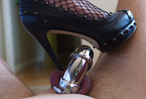 Preparing Him for Permanent Male Chastity