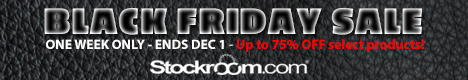stockroom black friday